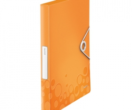 Plastic Box File สีส้ม