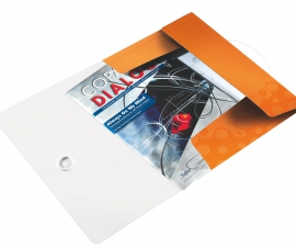 Lyreco ซองเก็บเอกสาร 3 Flap ยี่ห้อไลซ์ สีส้ม