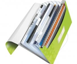 แฟ้มกระเป๋าเก็บเอกสาร Project File ยี่ห้อไลซ์ สีเขียว